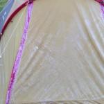 霜が降りた秋キャンプと近所営業の話