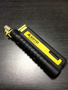 風よ吹け!俺のライターは嵐にも負けぬ!ソト(SOTO) スライドガストーチ ST-480
