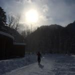 冬キャンプ・定山渓自然の村キャンプ場(氷点下10度)札幌市定山渓