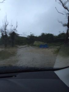 ダンロップアルパインテントVS30風雨での耐久力