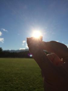 鶴沼公園キャンプ場で燻製タラコ