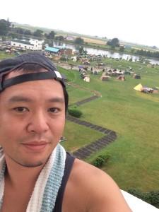 タカさんと新篠津村キャンプ場