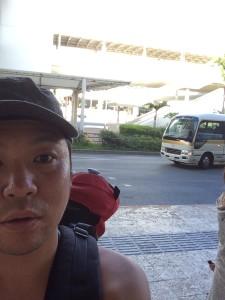 沖縄県でソロキャンプ