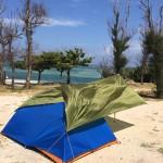 無謀!?決死の沖縄ソロキャンプ旅行記第3話「テント設営!キャンプ開始!」