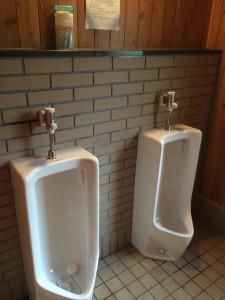 古山貯水池オートキャンプ場のトイレ