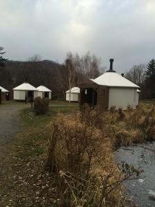 定山渓自然の村キャンプ場テントハウス
