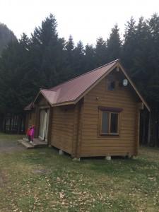 定山渓自然の村キャンプ場コテージ