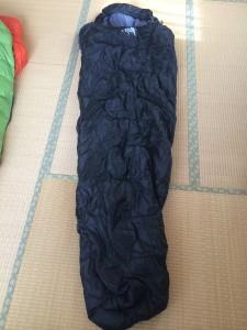 WHITESEEKマミー型寝袋の大きさ