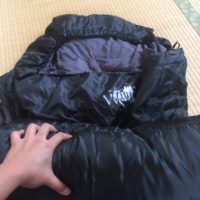 WHITESEEKマミー型寝袋の中綿は十分