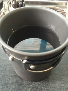 熊本もっこすラーメンは水の量500ml