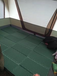 小川キャンパルのパラディオ56dxの寝室用のインナーマット