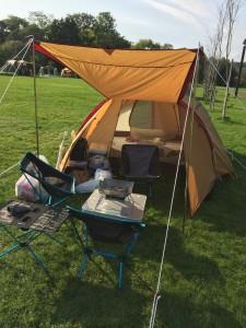 我が家のキャンプチェアはヘリノックスチェア