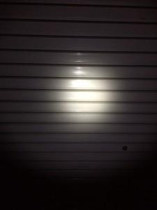 夜のスルーナイトTi3明るさ比較3段階目