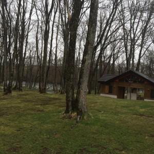 北海道夕張郡由仁町の古山貯水池自然公園オートキャンプ場