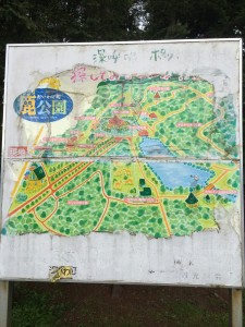 北海道安平町鹿公園の地図
