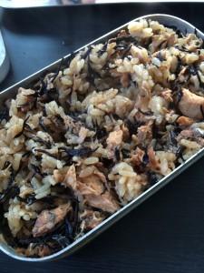 メスティンで作るさば味噌炊き込みご飯の作り方