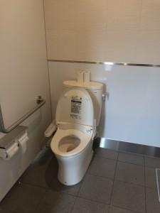 北海道安平町鹿公園のキャンプ場のトイレはウォッシュレット完備!