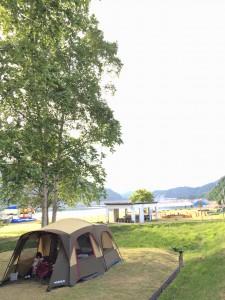 岩尾内湖白樺キャンプ場
