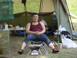 キャンプ燻製講座