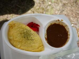 クレイジースパイスの美味しいオムカレー