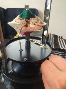 マントルの焼き方(ガスを出し入れする)