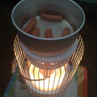 秋冬キャンプで使用ている灯油ストーブ