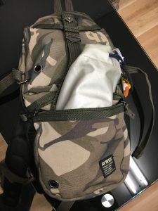 TOTOの携帯用ウォッシュレットはカバンのサイドポケットにも収納できる