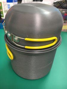 モンベルアルパインクッカーとベルモントのシェラカップ