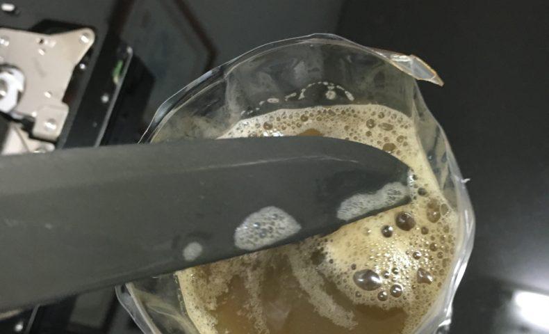黒錆加工でモーラナイフが超マットに