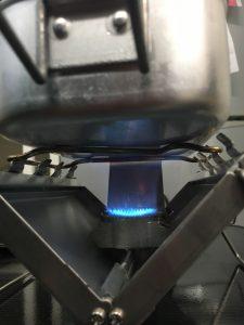 G-ストーブの強火