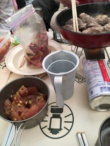 冬キャンプ料理
