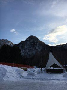 定山渓自然の森キャンプ場でキャンプ