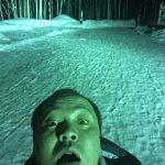 人は無暖房キャンプで氷点下10℃の中、どれだけ薄着で眠れるんだろうか?(笑)