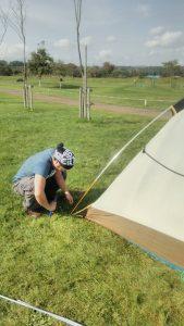 テントの建て方講座