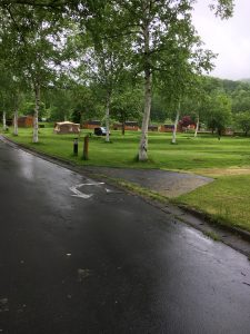 雨のグリーンステイ洞爺湖