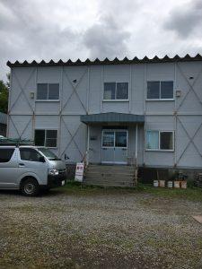 小樽望洋シャンツェオートキャンプ場のセンターハウス