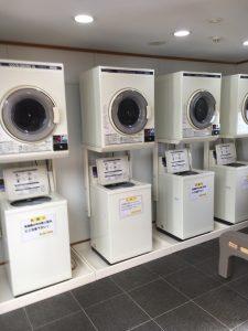 八雲オートリゾートの洗濯機