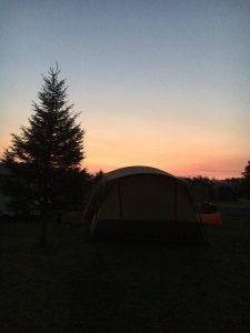 オートリゾート八雲の夜明け