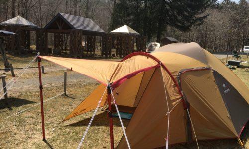 白老ポロトの森キャンプ場でソロキャンプ
