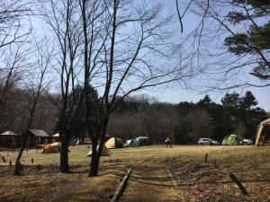 2018年白老ポロトの森キャンプ場