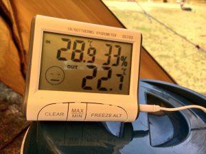 4月の北海道で20℃超え