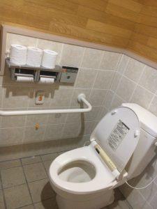 まあぶオートキャンプ場のトイレはウオッシュレット