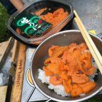 ときわキャンプ場(北海道安平町)の紹介とキャンプでウニ丼食べてみた!