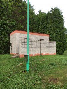 安平町ときわキャンプ場の和式トイレ