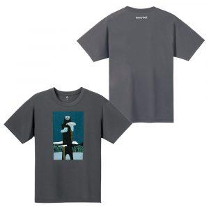 モンベルウイックロンTシャツ山男