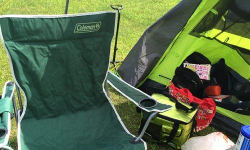 ドッペルギャンガーのワンタッチテントでソロキャンプ