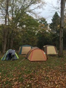 空きキャンプでDODワンタッチテント