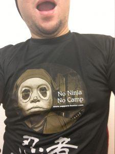 キャンプ王Tシャツ