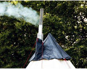 ローベンスクロンダイクには煙突穴標準装備