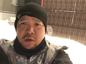 氷点下12℃のキャンプ王
